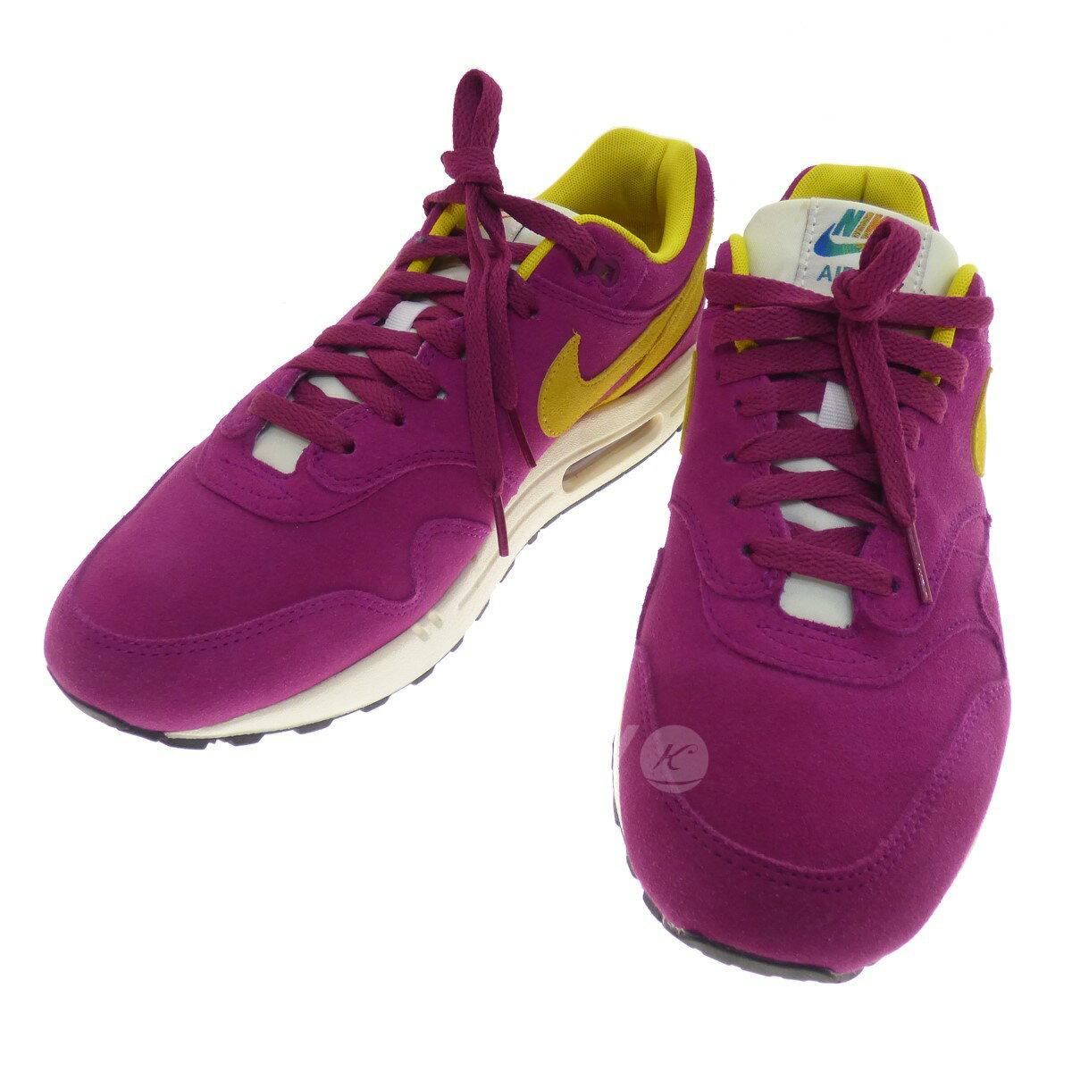 timeless design 40f8c 76ce8 NIKE AIR MAX 90 PREMIUM low-frequency cut sneakers purple size: 27 5 (Nike)