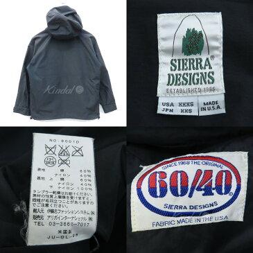 【中古】SIERRA DESIGNS 60/40クロスマウンテンパーカー 米国製 アメリカ製 ブラック サイズ:JP XXS 【161118】(シエラデザインズ)