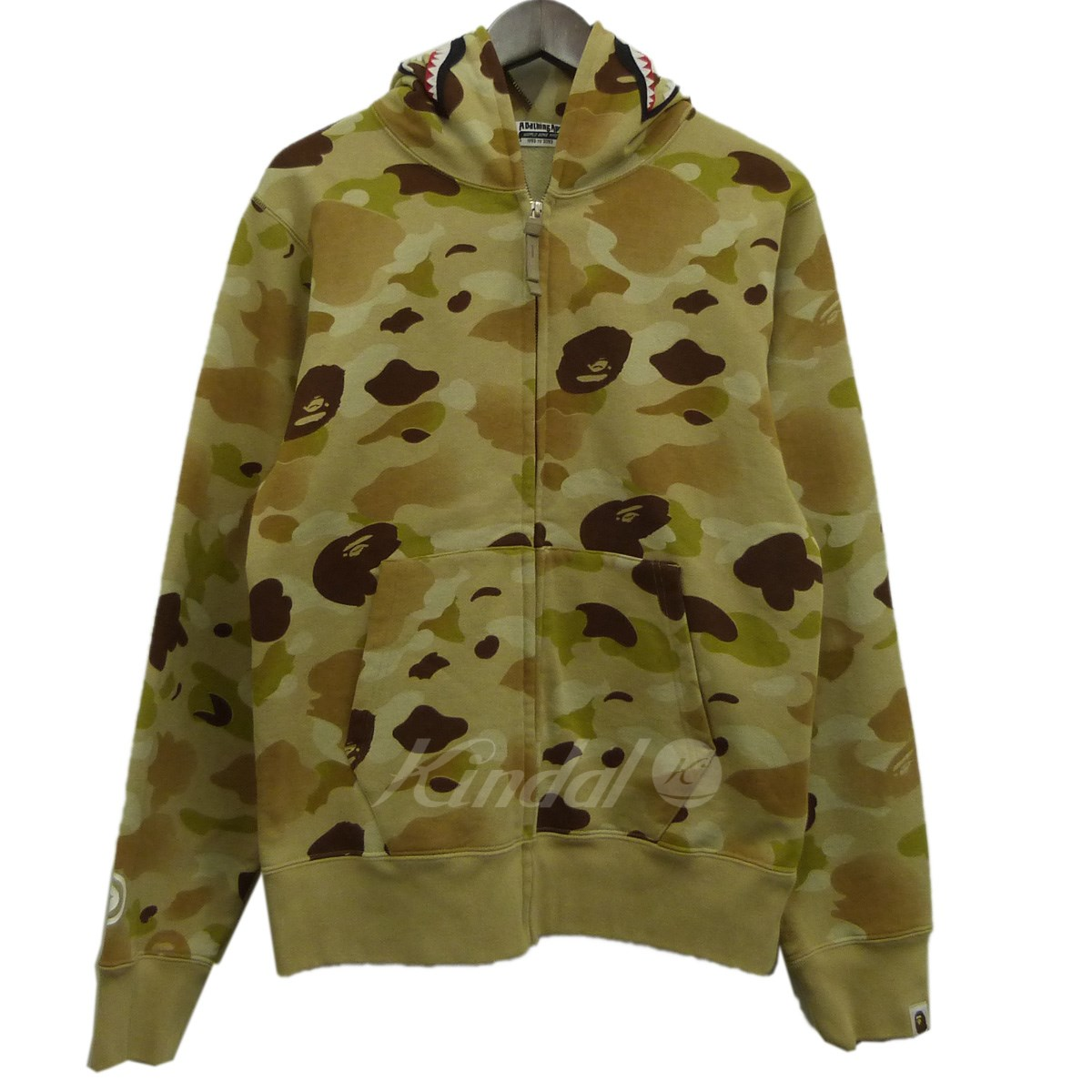 トップス, パーカー A BATHING APE 18SSGRADATION CAMO SHARK FULL ZIP HOODIE 140629 KIND1854