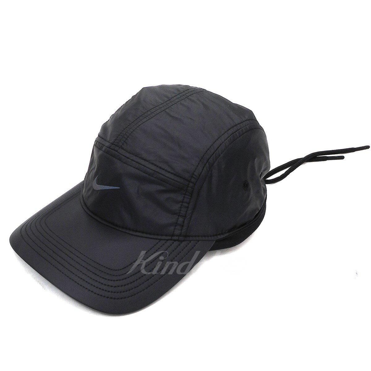 305d57ac2a3 kindal  FEAR OF GOD X NIKE AW84 adjuster bulldog cap black (Fear of ...