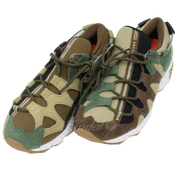 uk availability 85dec af3e5 Asics Tiger X BEAMS GEL-MAI G-TEX camouflage sneakers khaki size: 26cm