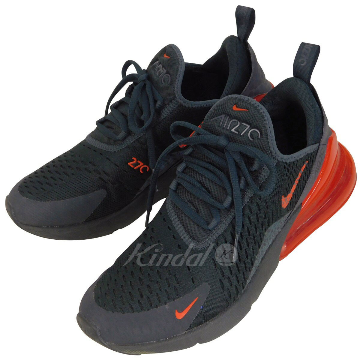NIKE AIR MAX 270 SE REFLECTIVE BQ6525 001 sneakers black X red size: 26 5cm (Nike)