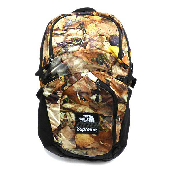 5e243cb7 kindal: Supreme X THE NORTH FACE 2016AW LEAVES Pocono Backpack leaf ...