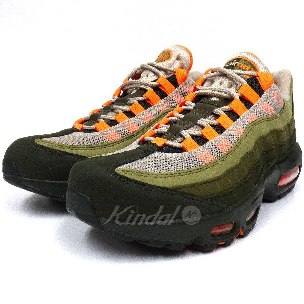 save off 2db50 e4918 NIKE AIR MAX95 Total Orange Air Max 95 sneakers khaki size: US7. 5 (25.5cm)  (Nike)
