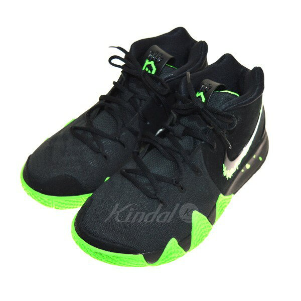buy popular c0830 f3c57 NIKE EPNIKE KYRIE 4 EP higher frequency elimination sneakers black X green  size: 27 5 (Nike)