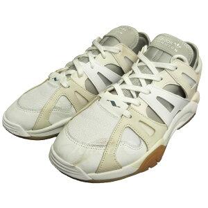 【中古】adidas「DIMENSION LO」スニーカー ホワイト サイズ:28cm【12月2日見直し】