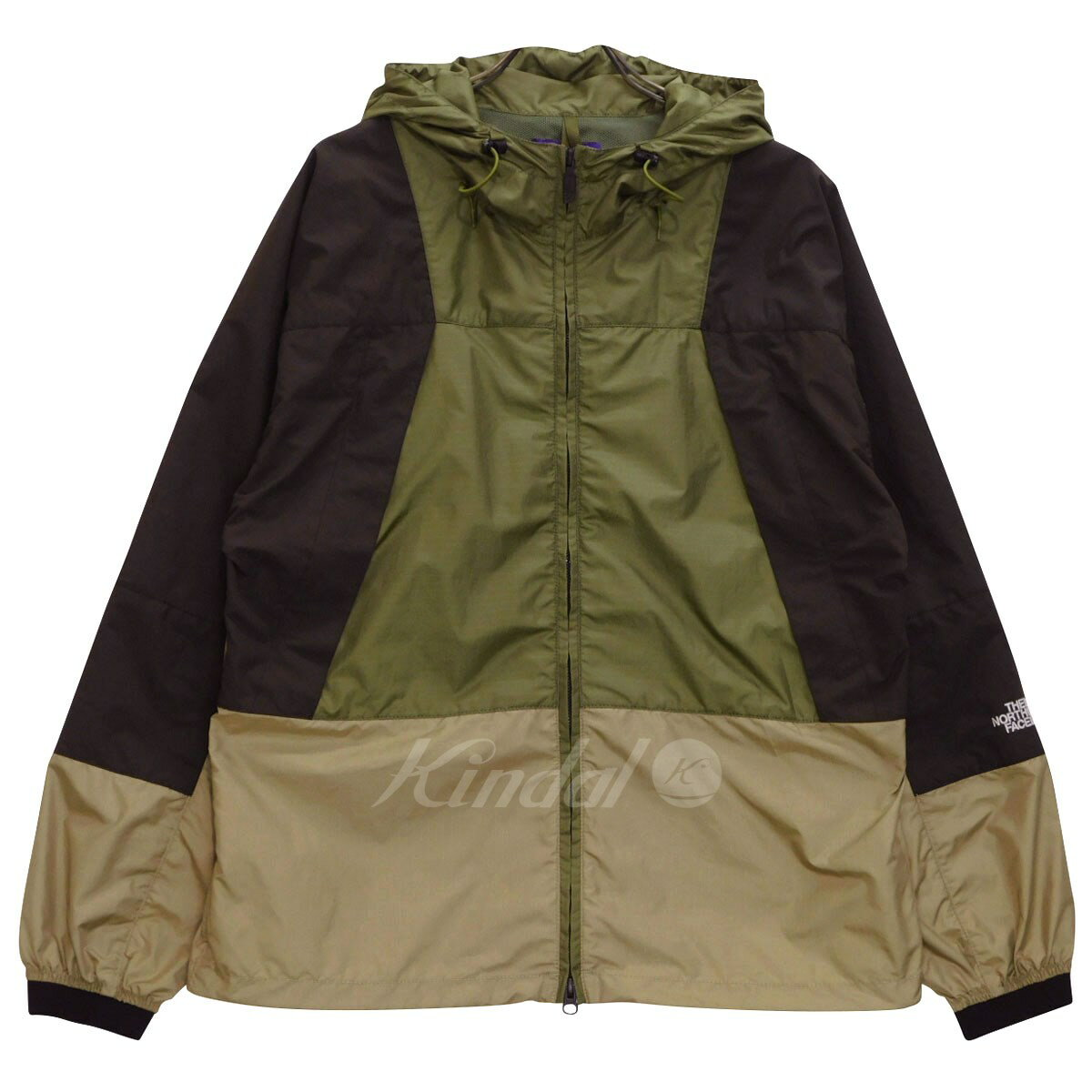 dd9484f2d THE NORTH FACE PURPLE LABEL Mountain wind parka mountain wind parka NP2924N  olive X brown X beige size: M