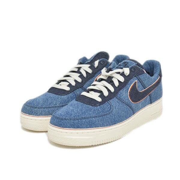 NIKE sneakers AIR FORCE 1 07 LOW PREMIUM 905,345 403 indigo size: US10 (28cm)