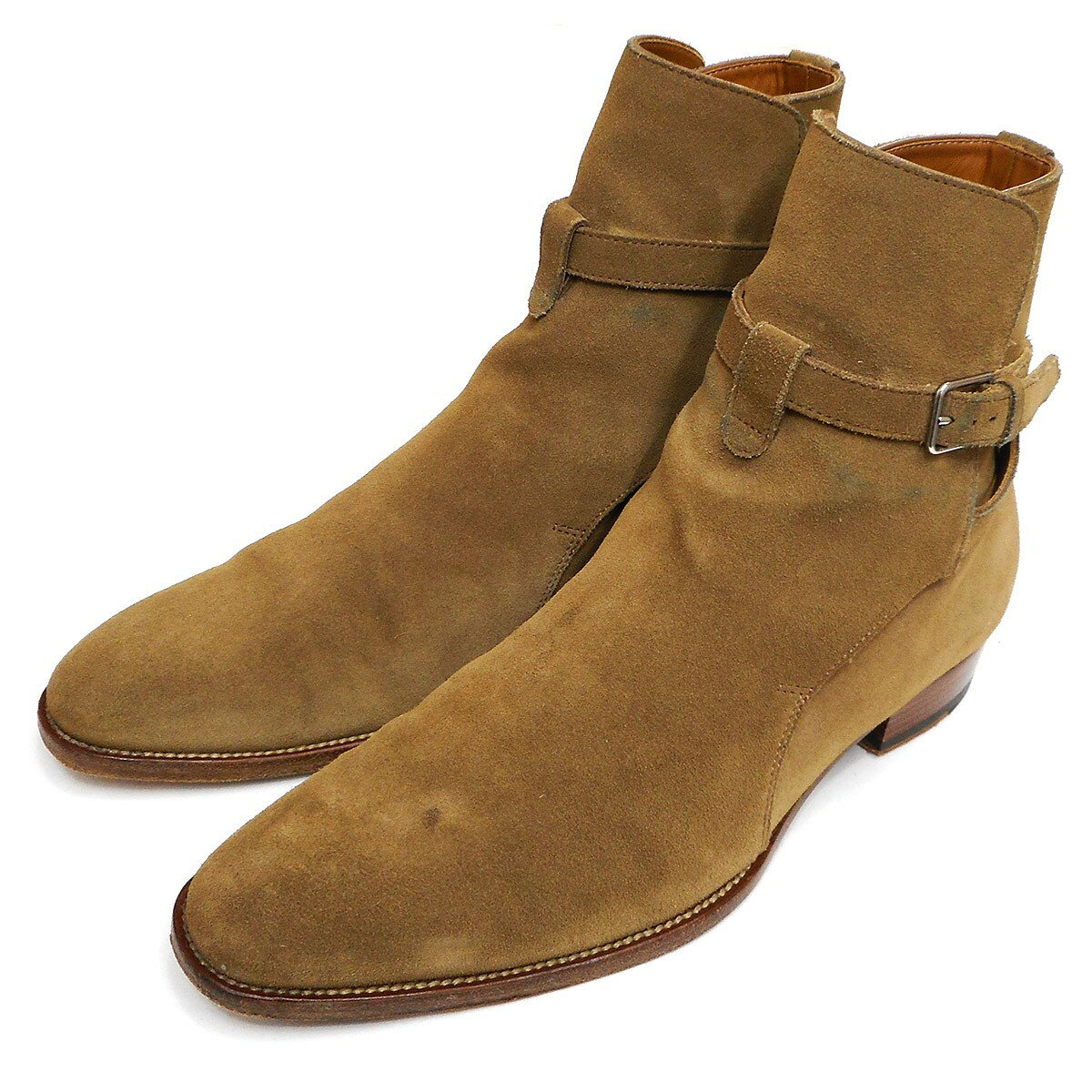 ブーツ, その他 SAINT LAURENT PARIS2018SS WYATT 30 JODHPUR 41 76
