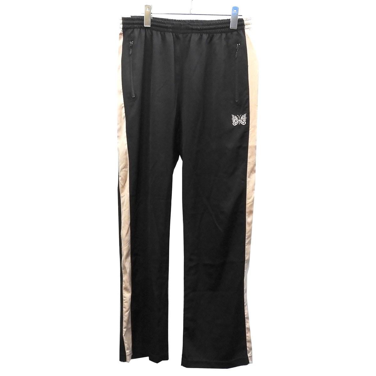 メンズファッション, ズボン・パンツ Needles PAPILLON EMBSIDE LINE TRACK PANT L 141119