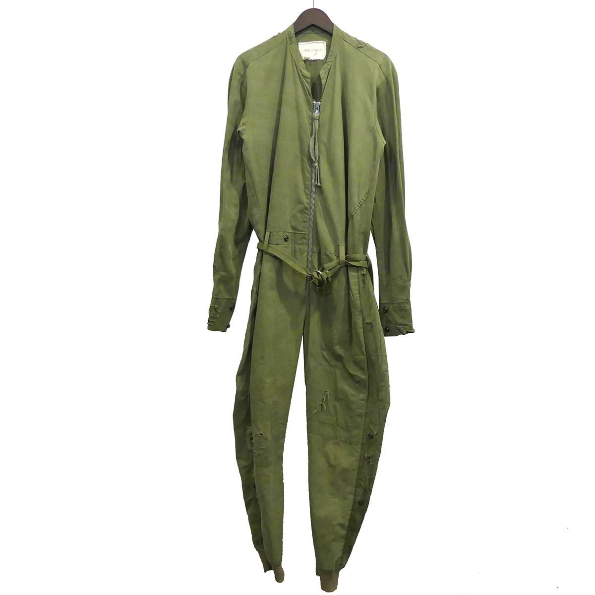 メンズファッション, ズボン・パンツ Greg Lauren 16SS ARMY TENT PATCHWORK LANGE JUMPSUIT 1 191119