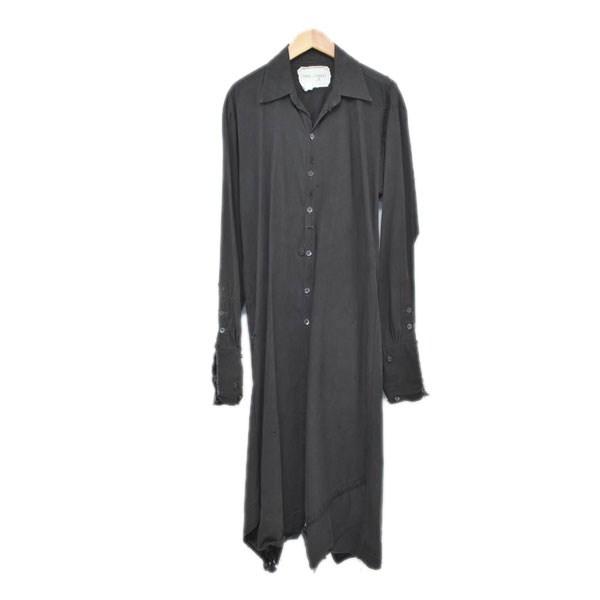 トップス, カジュアルシャツ GREG LAUREN Collared Longtent Studio Shirt 0 211119