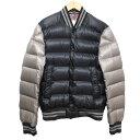 【中古】MONCLER BRADFORD ダウンジャケット ブラック×グレー サイズ:2 【0812 ...