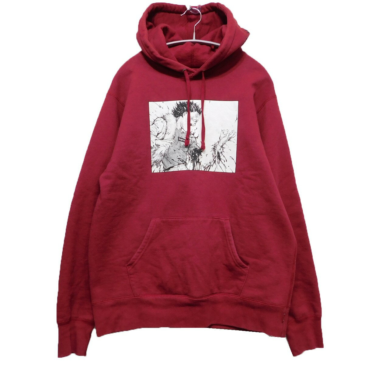 トップス, パーカー SUPREMEAKIRA 2017AW Arm Hooded Sweatshirt M 100120