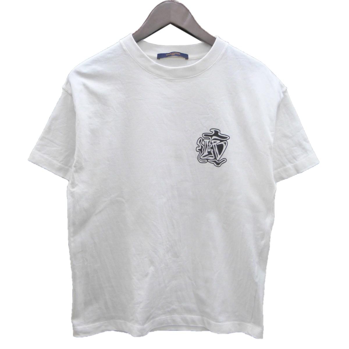 トップス, Tシャツ・カットソー LOUIS VUITTON19AW LVTEE XS 416