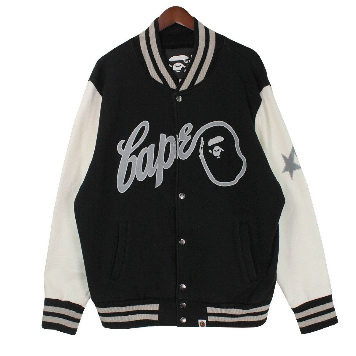 A Bathing Ape varsity jacket A BATHING APE M 330