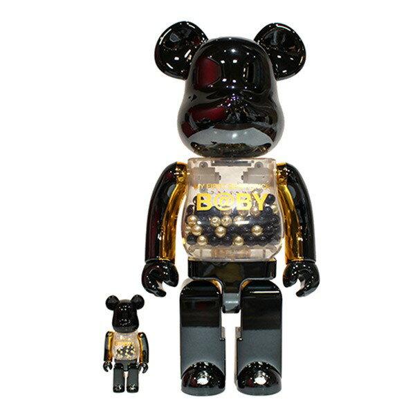 バッグ・小物・ブランド雑貨, その他 BEARBRICK MY FIRST BEAR BRICK BABY innersect BLACK GOLD 100400 160220