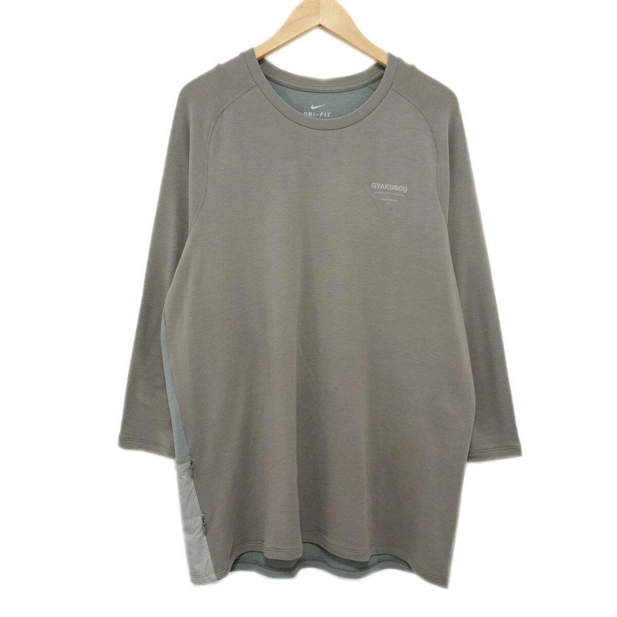 トップス, Tシャツ・カットソー GYAKUSOU LONG SLEEVE DRI-FIT AH1164-062 L 200220