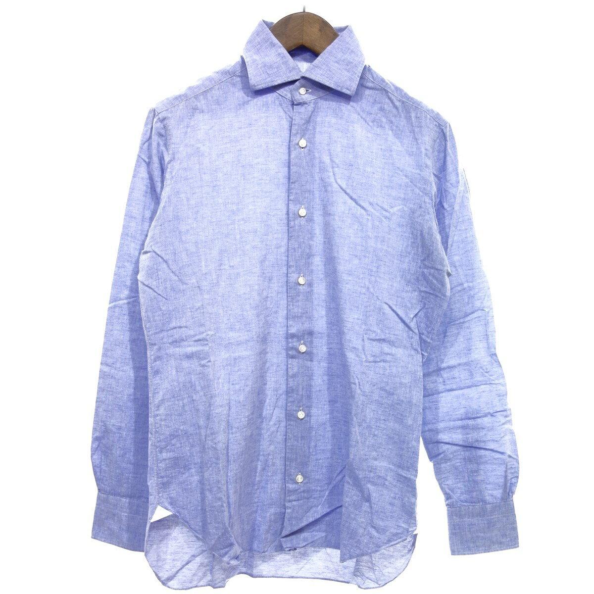 トップス, カジュアルシャツ BARBA 37 14 12 270320