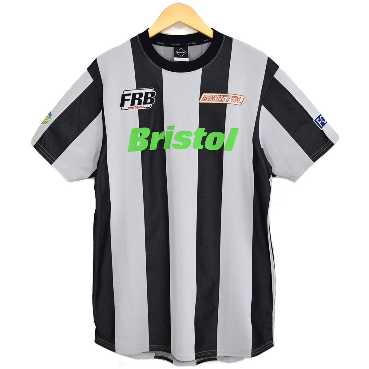 トップス, Tシャツ・カットソー FCRB STRIPE SS TRAINING TOP 2019SS FCRB-190027 L 270320