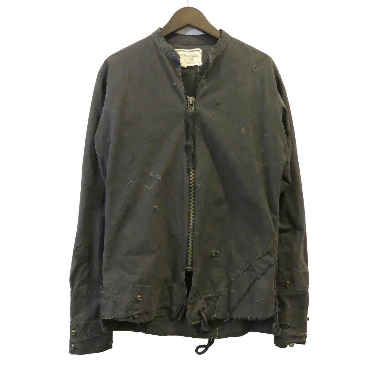 トップス, カジュアルシャツ Greg Lauren The Tent Zip Front Studio Shirt 0 270420