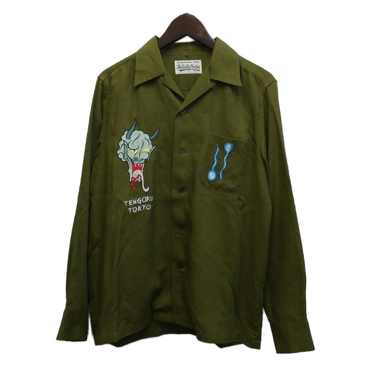 トップス, カジュアルシャツ WACKO MARIA 16AWSOUVENIOR SHIRT S 040620
