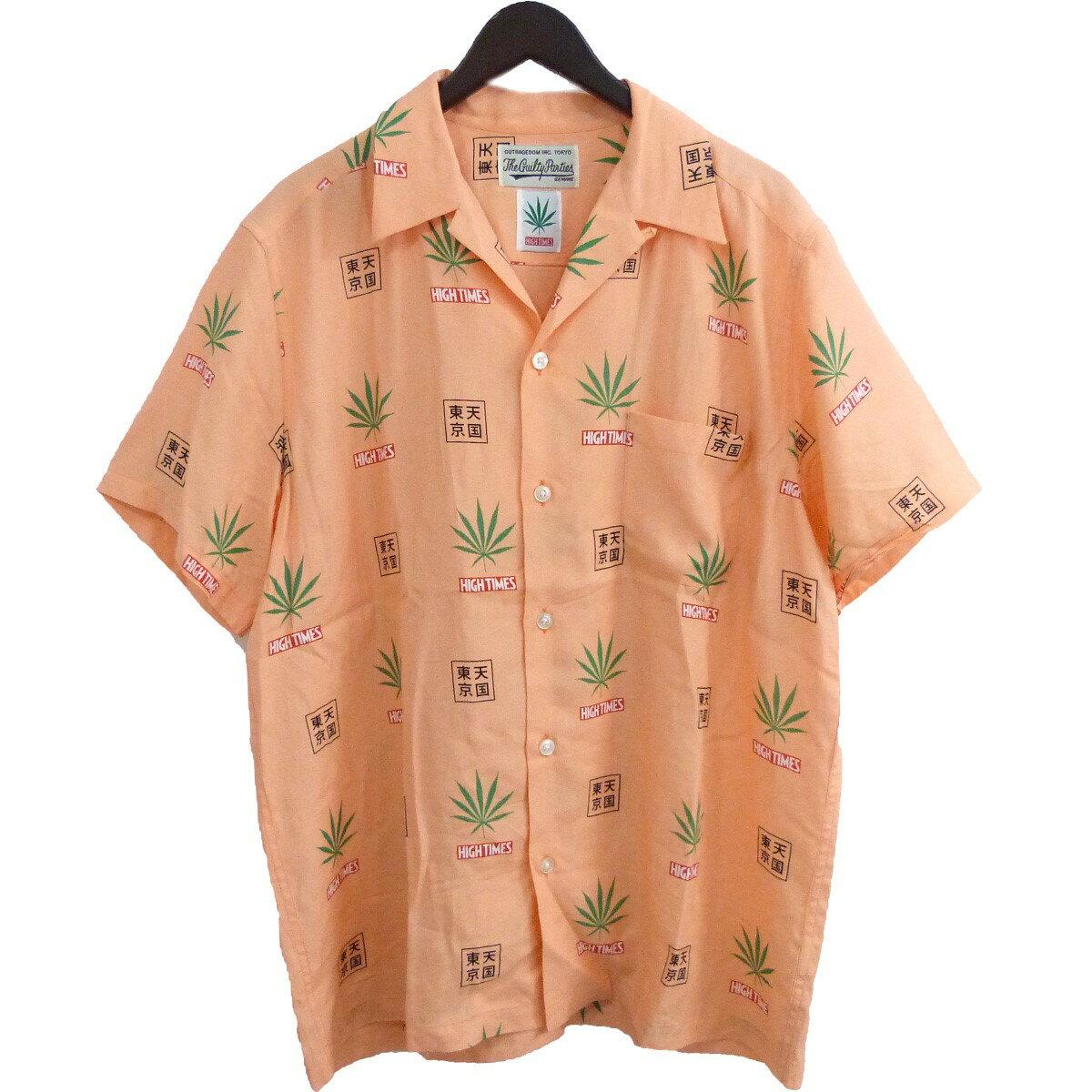 トップス, カジュアルシャツ WACKO MARIAHIGH TIMES 20SSHAWAIIAN SHIRT L 270820