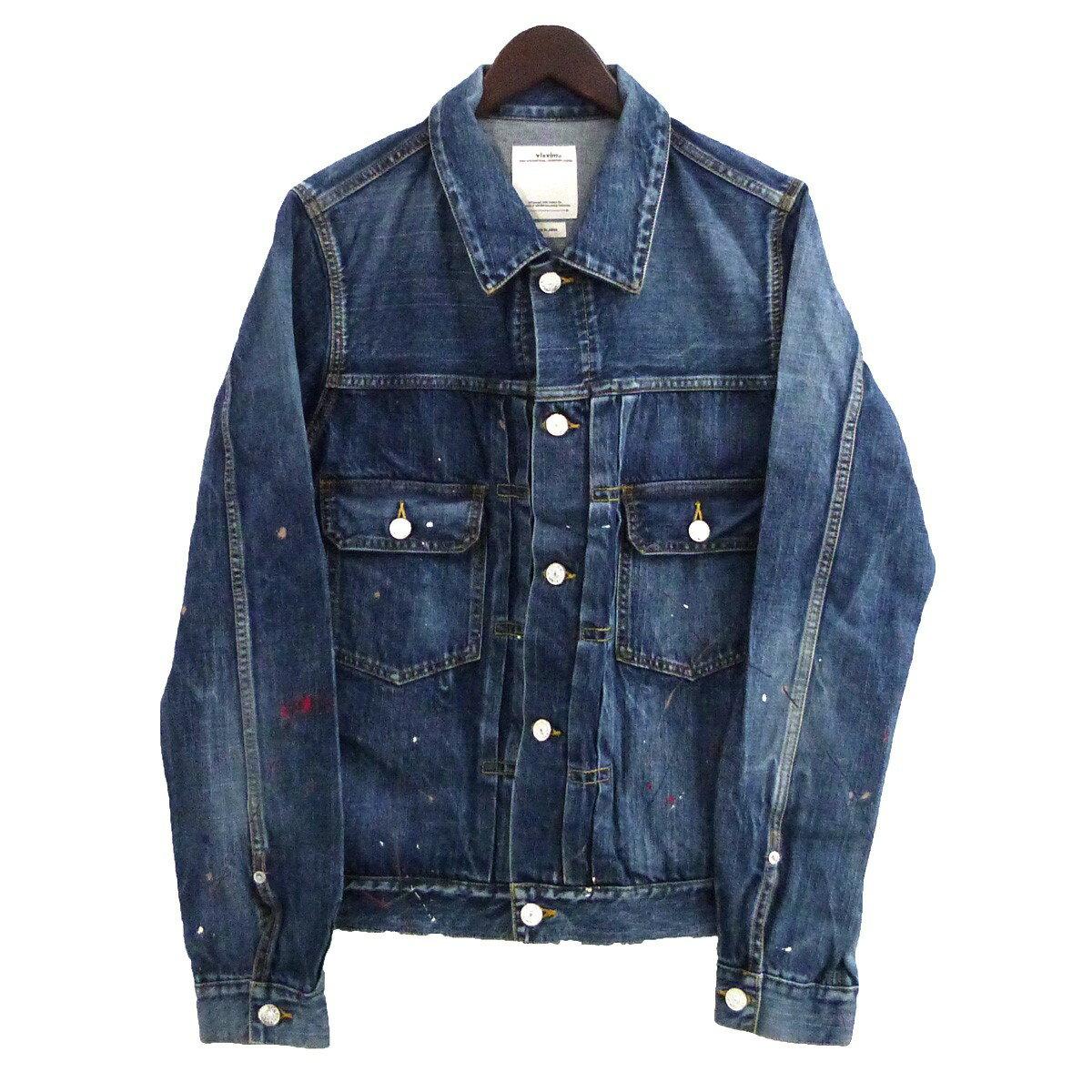 メンズファッション, コート・ジャケット VISVIM SS 101 JKT DRY DMGD-999 2 310820