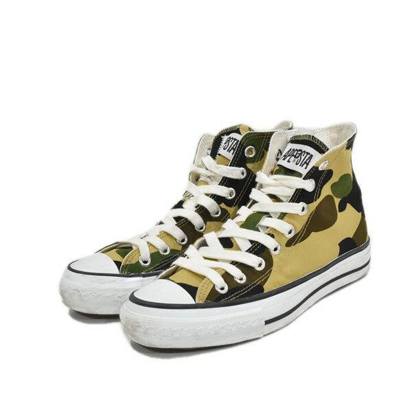 メンズ靴, その他 A BATHING APE 1ST CAMO APE STA HI US 75(255cm) 160920