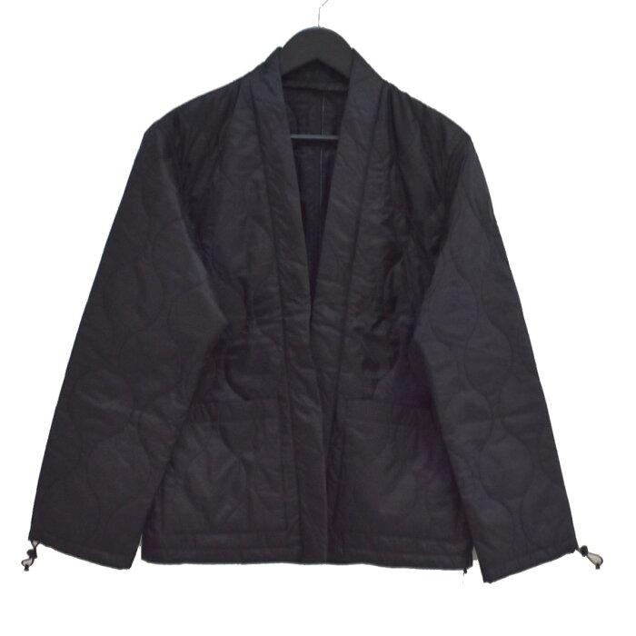 【中古】SOPHNET. 19AW QUILTING SHIRT CARDIGAN ナイロンジャケット ブラック サイズ:M 【250920】(ソフネット)