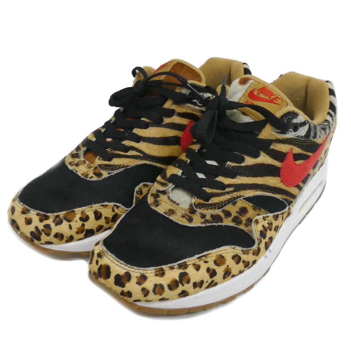 メンズ靴, スニーカー NIKE AIR MAX 1 DLX ANIMAL PACK 28cm 300121