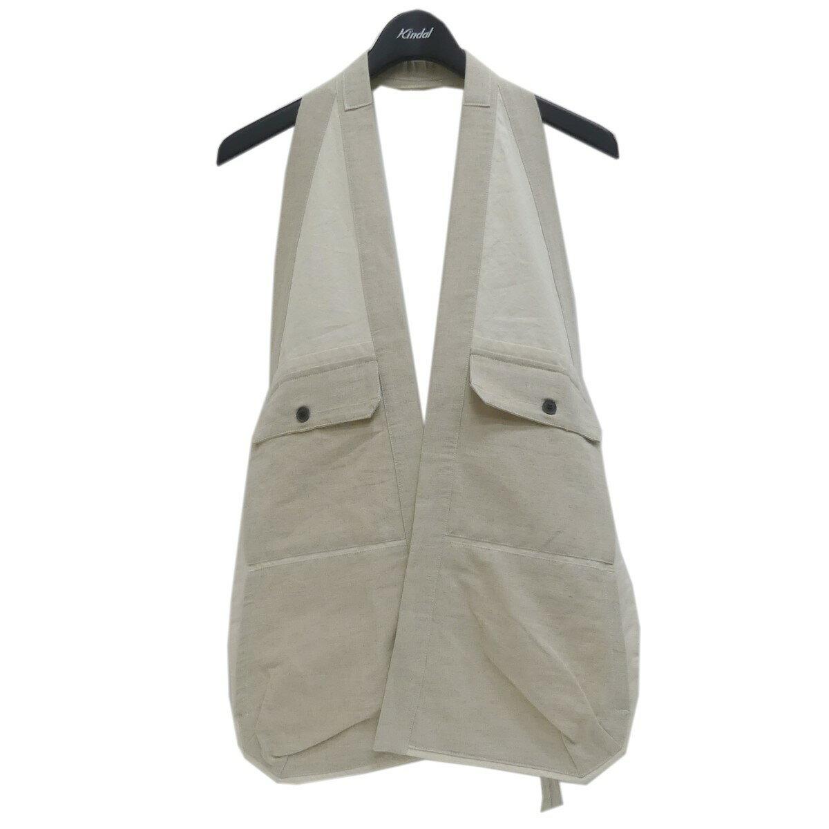 トップス, ベスト・ジレ JAN-JAN VAN ESSCHE Natural Banboo Cloth M 190221