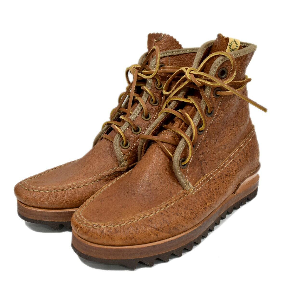 ブーツ, その他 VISVIM 12AW PLATTE BOOTS HI-FOLK US9 27cm 120321