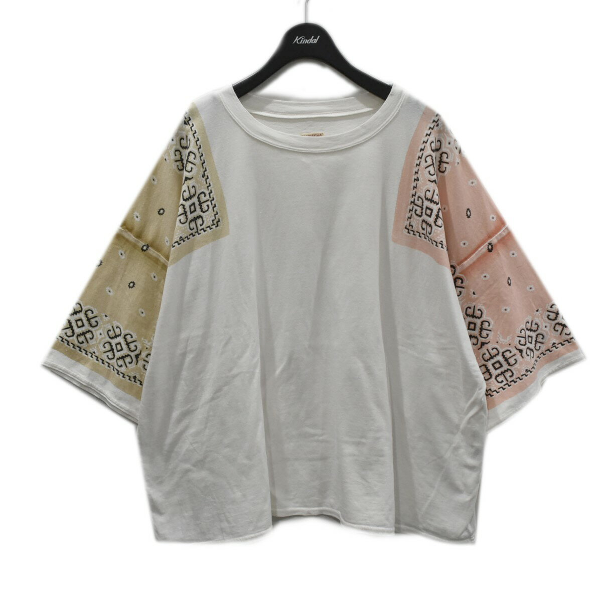 トップス, Tシャツ・カットソー KAPITAL BANDANA tee T K1906SC862 1 220321