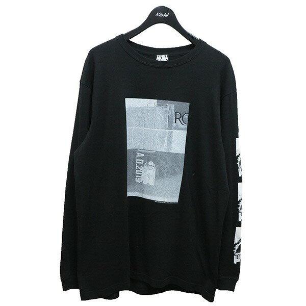 トップス, Tシャツ・カットソー AkiraKousuke KAWAMURA Katsuhiro Otomo PARCO AKIRA ART OF WALL LONG TEE XL 280521