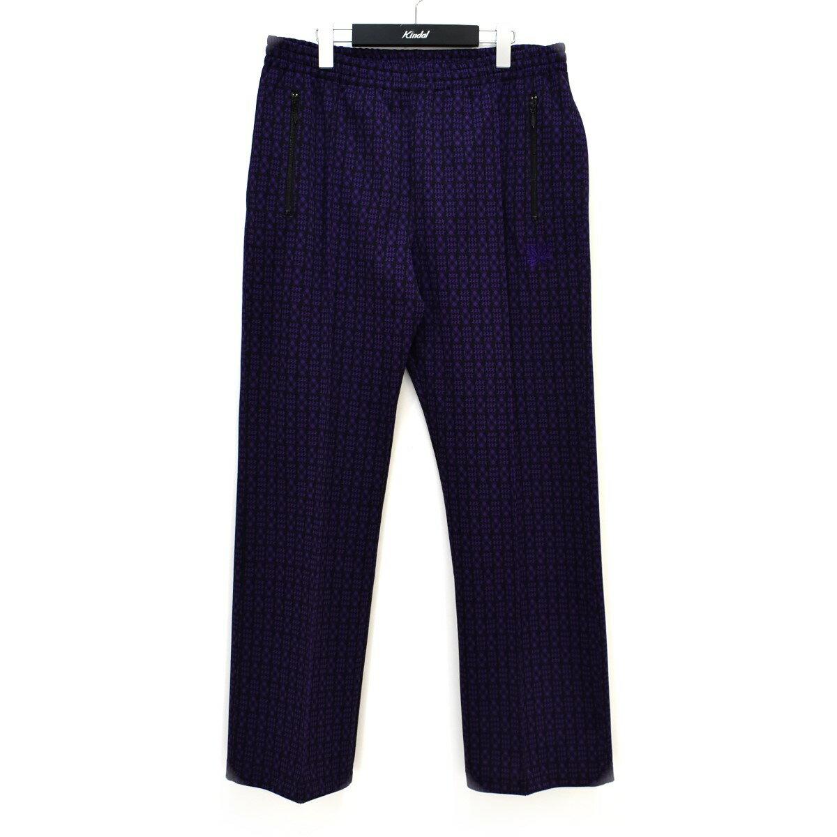 メンズファッション, ズボン・パンツ Needles 21SS TRACK PANTS POLY JQ L 260621
