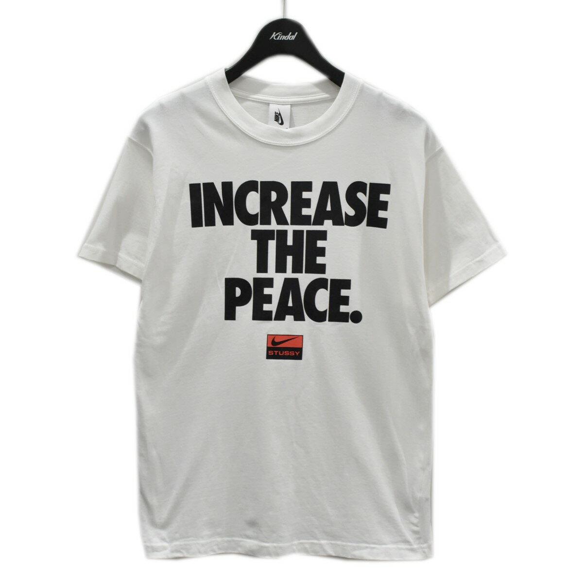 トップス, Tシャツ・カットソー NIKESTUSSY INCREASE THE PEACE TEE?T CU9253-100 S 050721