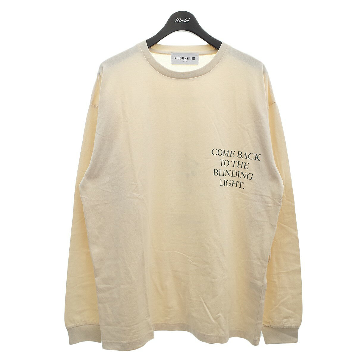 トップス, Tシャツ・カットソー NIL DUENIL UN 21SS Long Sleeve Tatoo TeeT Free 050721