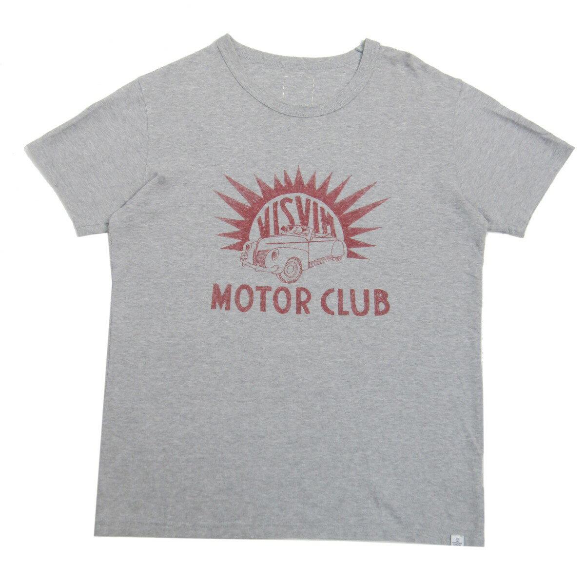 トップス, Tシャツ・カットソー VISVIM 2017SS DRY VINTAGE CREW SS MOTOR CLUB TEE T 2 160721