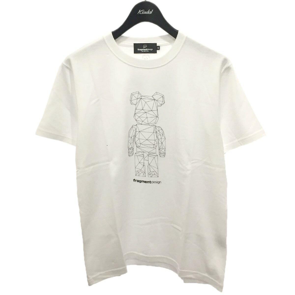 トップス, Tシャツ・カットソー FRAGMENT DESIGN BEARBRICK MEDICOM TOY EXHIBITION 2020 IN VIRTUAL T S 260821