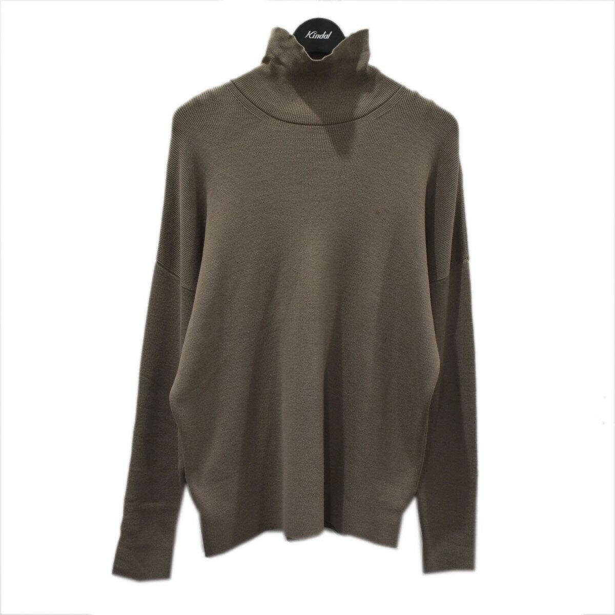 トップス, カーディガン AURALEE Super Fine Wool Ski Knit Turtle Neck PO 3 010921