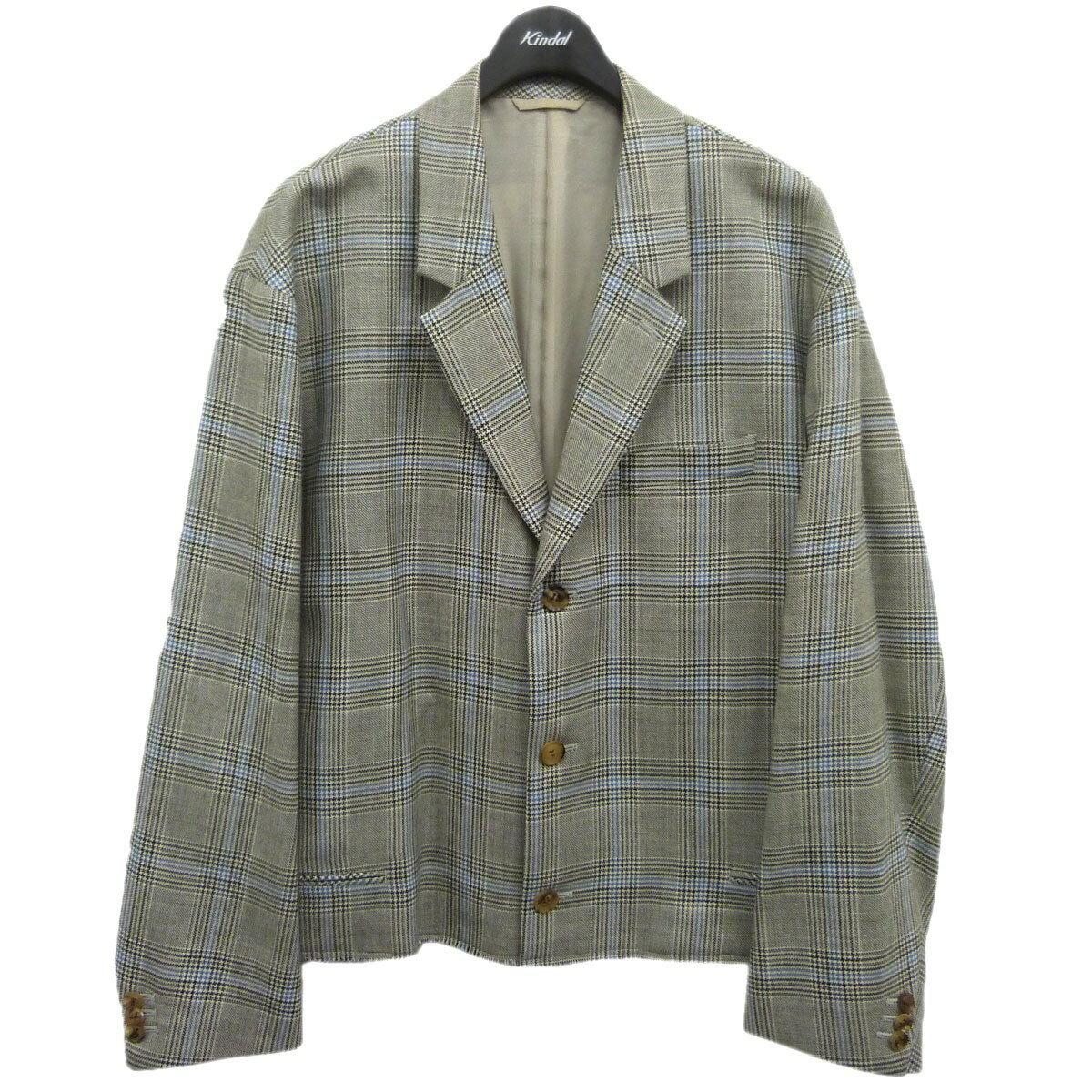 メンズファッション, コート・ジャケット doublet 2018SS CUT OFF OVER-SIZED TAILORED JACKET M 250921