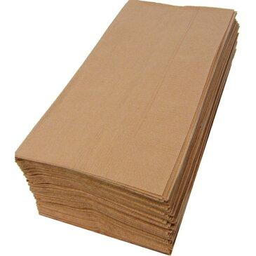 【紙ナプキン】8つ折り2PLYナプキン「マロングラッセ」(50枚)