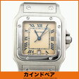 Cartier カルティエ サントスガルベ LM クオーツ 腕時計 #WC381Y【中古】