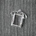 ★【ハメパチ】自分で作るオリジナル写真入りストラップ 手作りキット Tシャツ形 25x16mm CAA-T25A【10個入り】