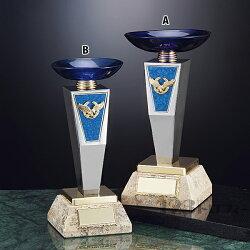 クリスタルカップCG-7510B★高さ230mm《AGH-1》プレート彫刻無料