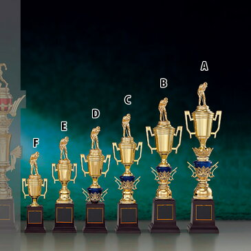 トロフィー T8737C ★高さ380mm《B-1》選べる競技108種類★名入れ彫刻無料 ゴルフコンペ 野球 サッカー バレー バスケットボール スポーツ大会 優勝記念品