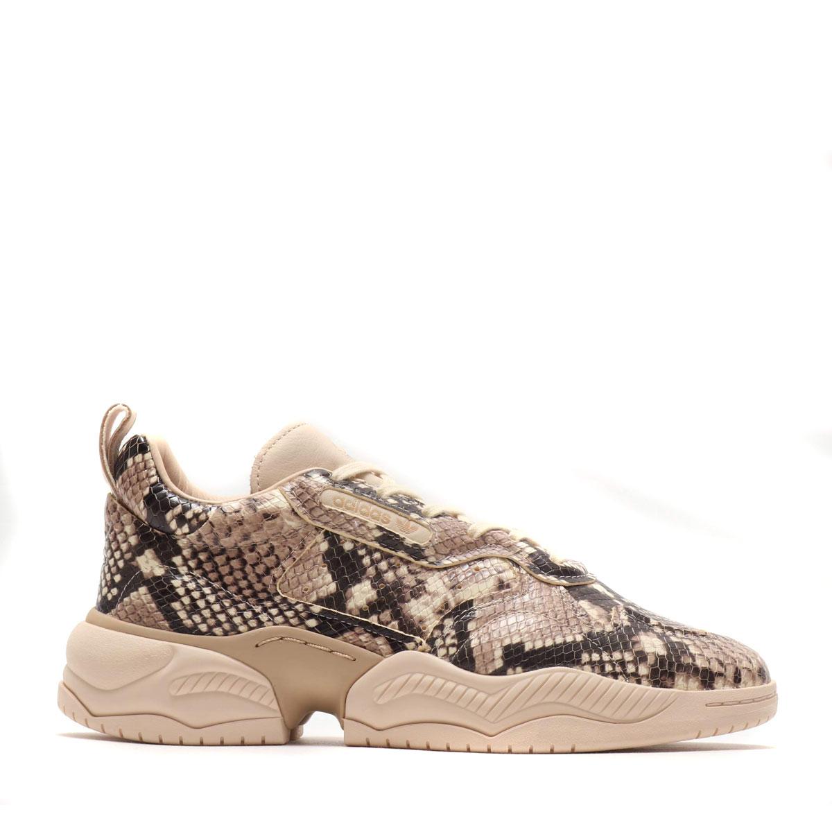 メンズ靴, スニーカー adidas Originals SUPERCOURT RX(CORE BLACKLINENPALE NUDE)( RX)19FW-S