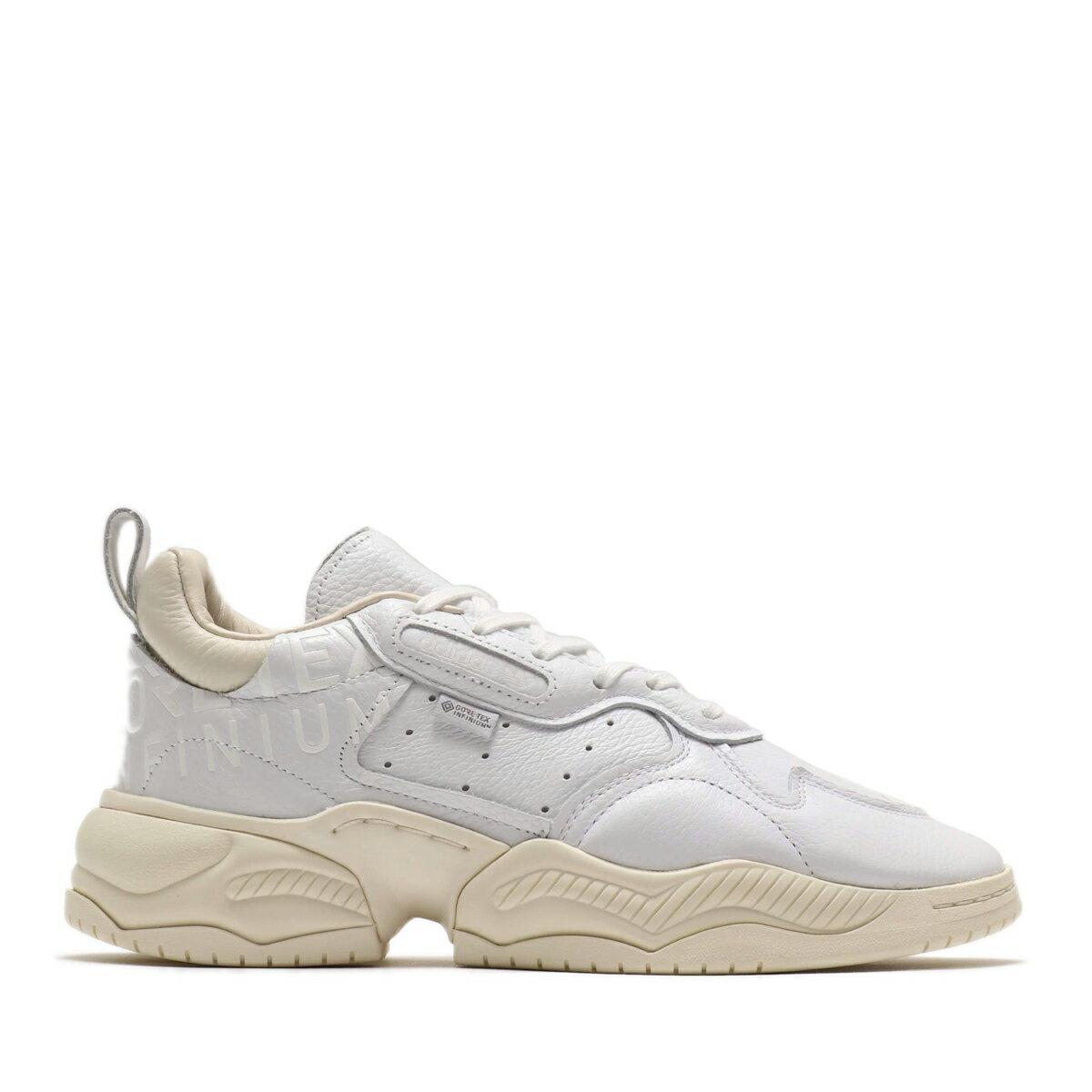メンズ靴, スニーカー adidas SUPERCOURT RX GORE-TEX(RUNNING WHITEOFF WHITECHORK WHITE)( RX)19FW-S