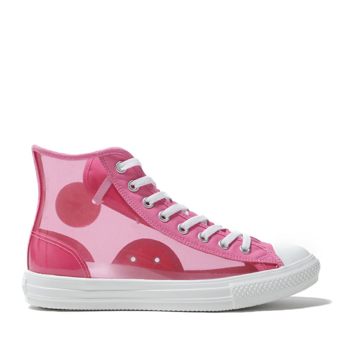 メンズ靴, スニーカー CONVERSE ALL STAR LIGHT CLEARMATERIAL HI(PINK)( )19FW-S